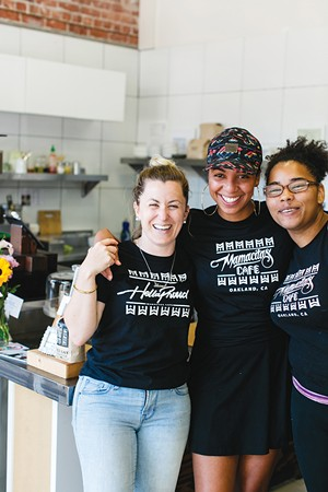 The team at Mamacita's Cafe. - PHOTO BY ANDRIA LO