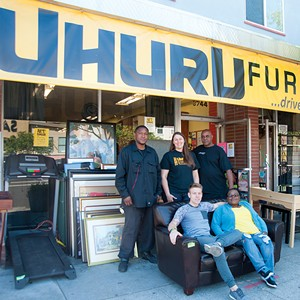The team at Uhuru will help you up your furniture game. - PHOTO BY TOM MORGENSTERN