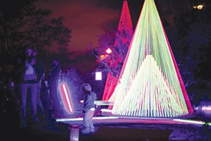 "Most ""lit"" festival: Autumn Lights Festival. - ERIN BALDASSARI,/FILE"