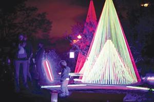 "Most ""lit"" festival: Autumn Lights Festival. - ERIN BALDASSARI,/FILE"