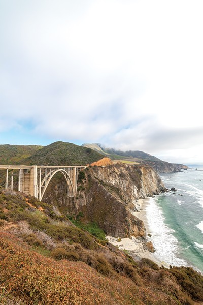 Big Sur's breathtaking vistas are once again accessible. - PHOTO CREDIT VITALIYPOZDEYEV/ISTOCK