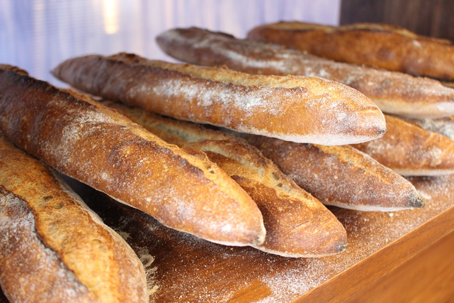 Baguettes at The Pain Shop. - JANELLE BITKER