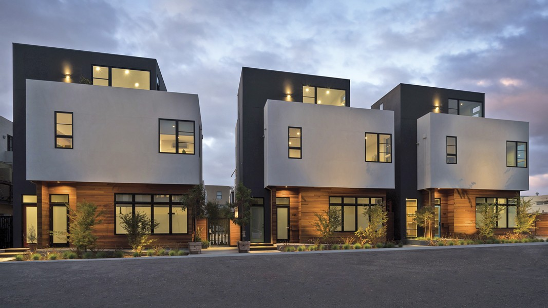 Units in Atomic City, Oakland's first net-zero community, ranged in size from 793 to 1,264 square feet. - PHOTO COURTESY OF PEAK REAL ESTATE GROUP