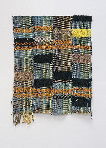 Diedrick Brackens incorporates African traditions of weaving into his work. - PHOTO BY PHILLIP MAISEL