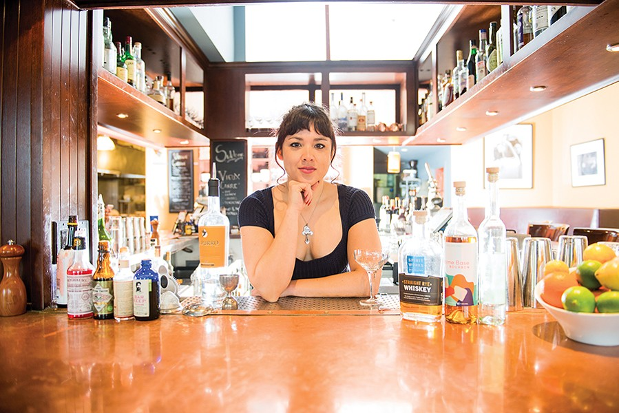 Pilar Reyes most recently bartended at Sidebar, but she faced challenges at other workplaces. - PHOTO BY PAT MAZZERA