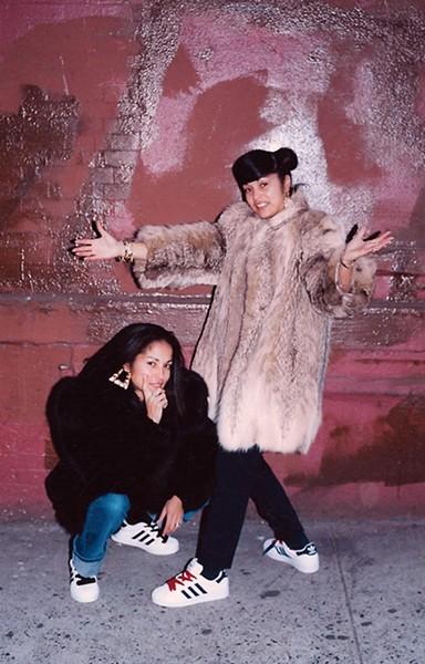 Jamel Shabazz's Sisters SoHo, NYC. - PHOTO BY JAMEL SHABAZZ