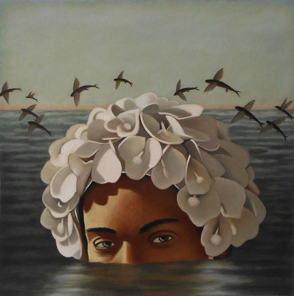 """""""Lotus Eater"""" is another one of Dana DeKalb's pieces on display. - PHOTO COURTESY OF BERKELEY ART CENTER"""
