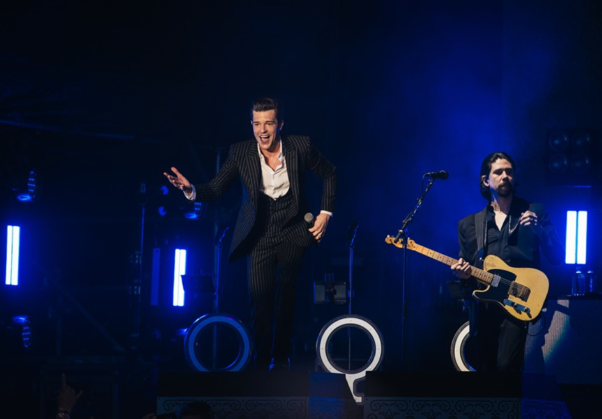 The Killers closed out Saturday. - PHOTO COURTESY OF NISHA GULATI (LATITUDE 38 TEAM)