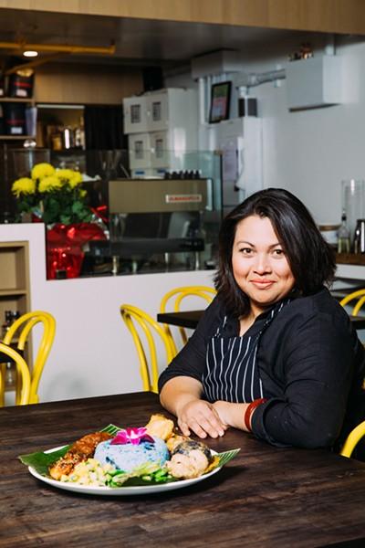Nora Haron-Dunning merged Southeast Asian flavors with California cuisine at Drip Line. - ANDRIA LO/FILE PHOTO