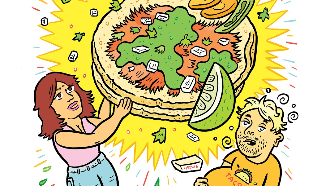 Oakland's best tacos aren't where you think. - ILLUSTRATION BY HAWK KRALL