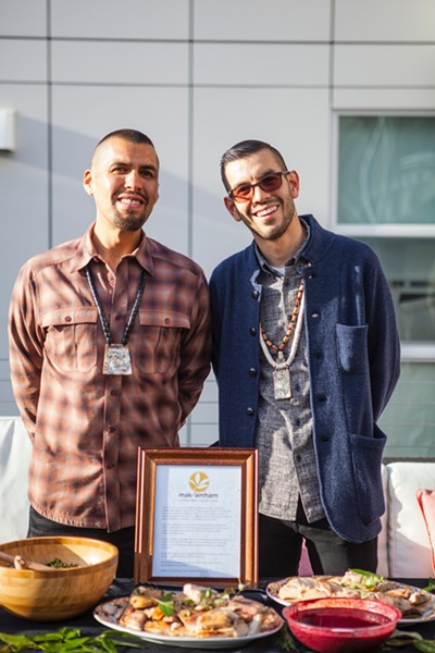 Vincent Medina (left) and Louis Trevino are co-founders of mak-'amham. - PHOTO COURTESY OF MICHELLE MADDOX