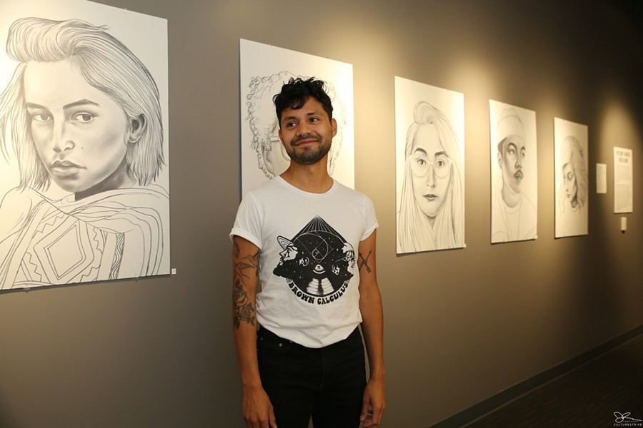 Artist Heldáy de la Cruz - PHOTO COURTESY CULTURESTRIKE