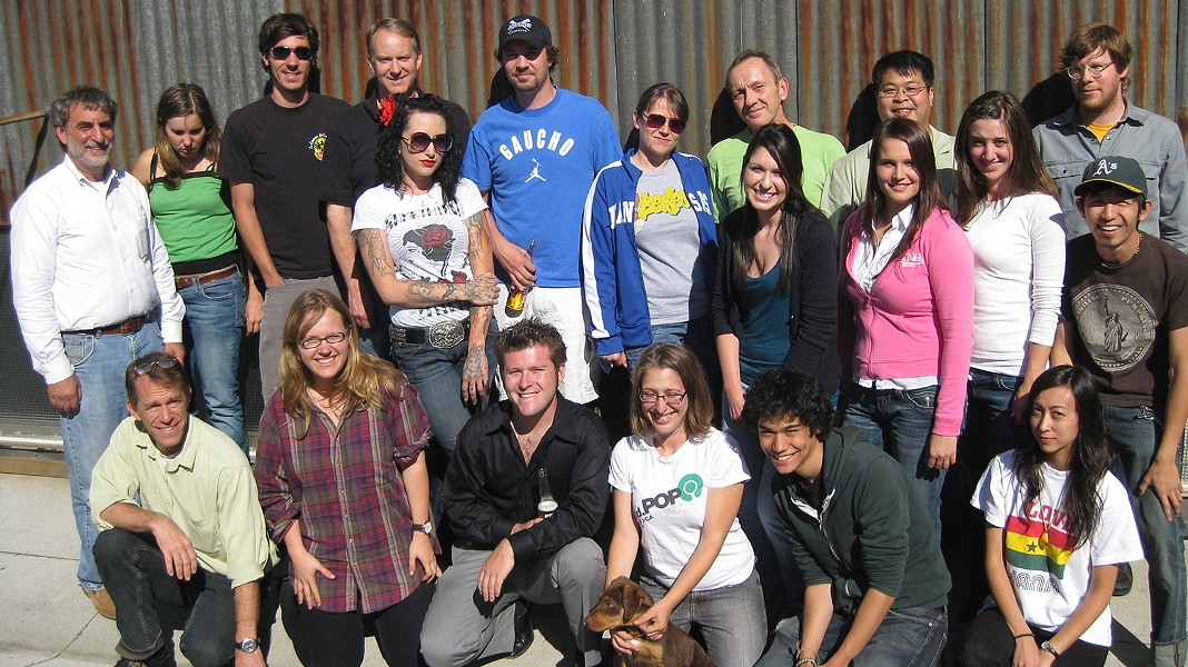 Staff photo from 2009. - PHOTO BY ROBERT GAMMON
