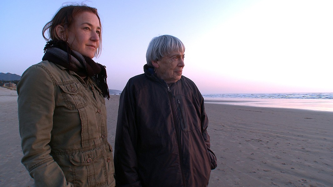 Arwen Curry first met Ursula K. Le Guin a decade ago. - PHOTO COURTESY OF ARWEN CURRY
