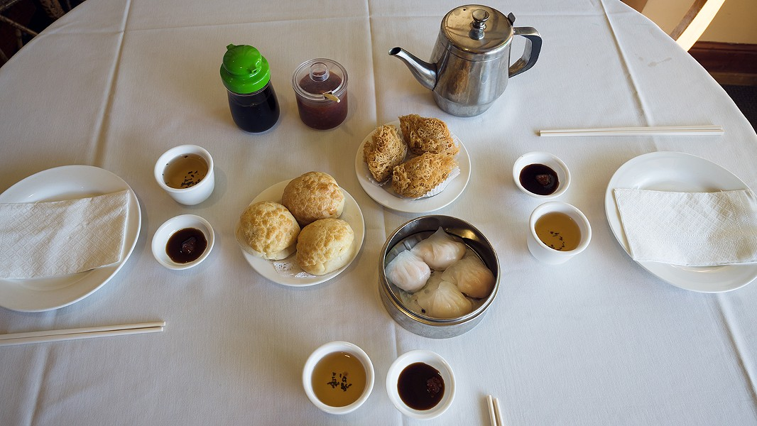 Nearly every dish served during dim sum is a crowd-pleaser. - PHOTO BY LANCE YAMAMOTO