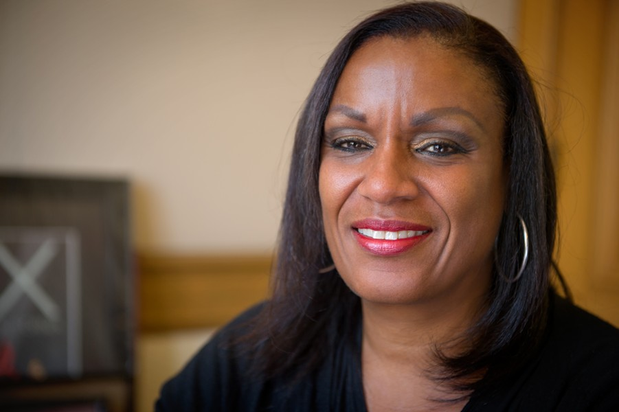 Desley Brooks. - FILE PHOTO BY CHRIS DUFFEY