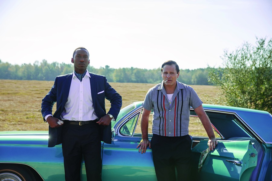 Mahershala Ali and Viggo Mortensen hit the road in Green Book.