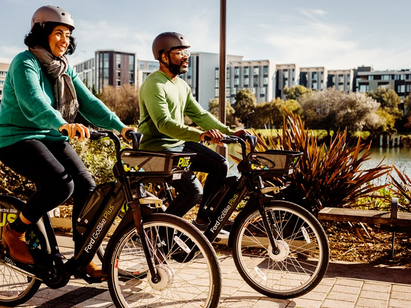 PHOTO BY JAKE STANGEL, PROVIDED BY FORD GOBIKE.