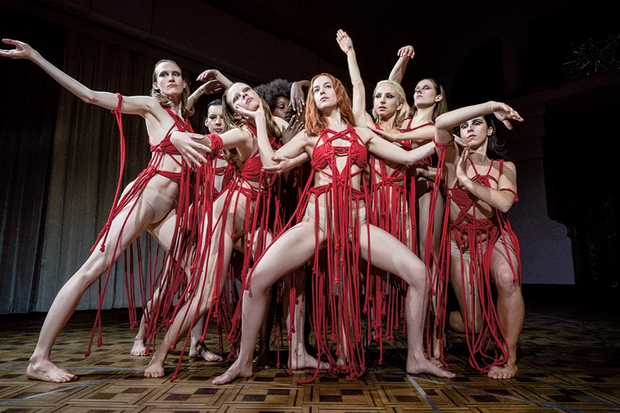 Suspiria is a twisted remake of the 1977 Italian horror film.