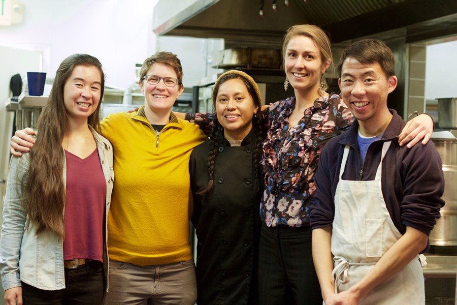 Food Shift is also looking for more catering gigs. - PHOTO BY MOMO CHANG
