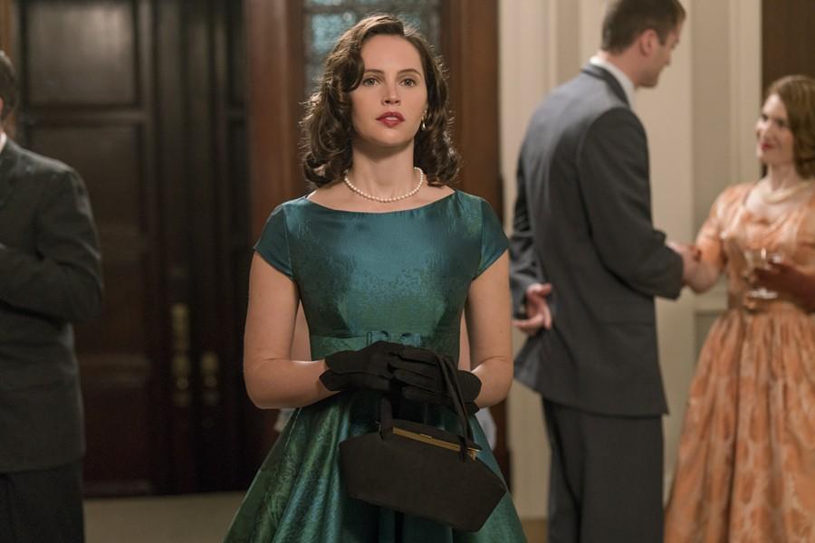 Felicity Jones stars in On the Basis of Sex.