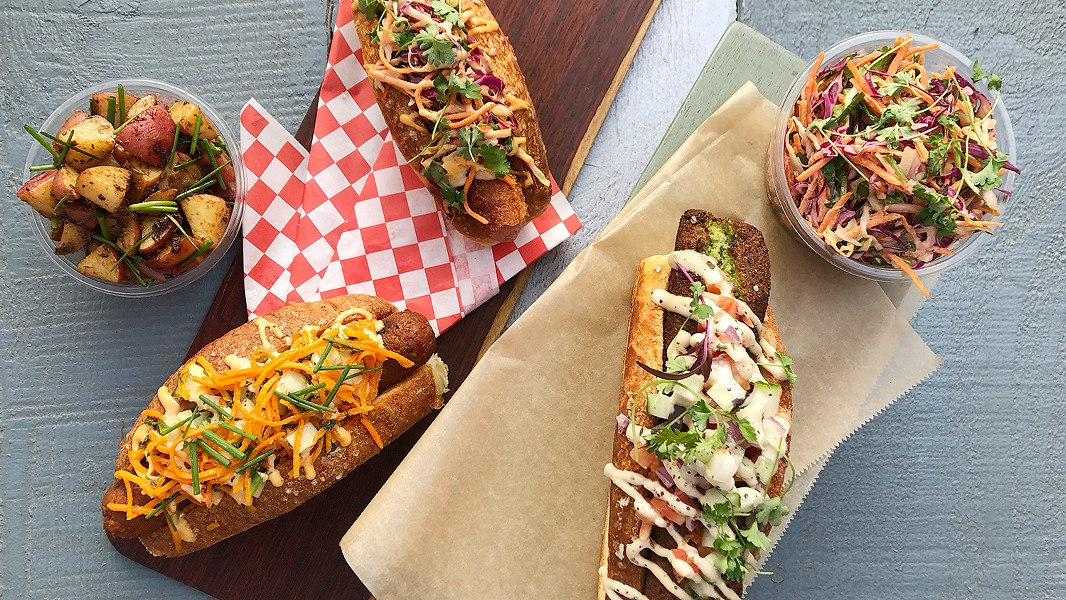 There's room to be creative at Dogtown Sausage. - PHOTO BY MALICA ALI AND JUSTIN NILSON