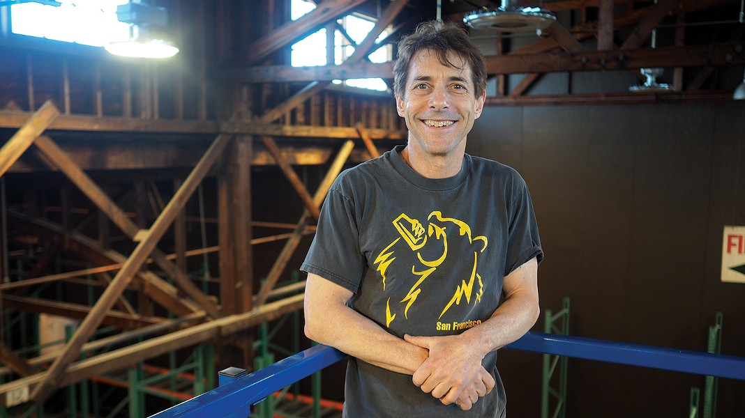 Admiral Maltings co-founder Ron Silberstein. - FILE PHOTO BY JON PAGE