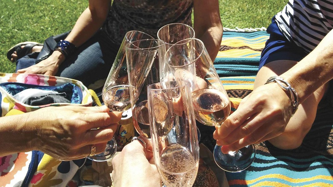 Say cheers to first anniversary for Free Range Flower Winery. - PHOTO BY LOUISA SPIER