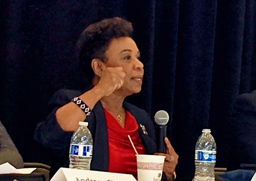 Oakland Rep. Barbara Lee - STEVEN TAVARES