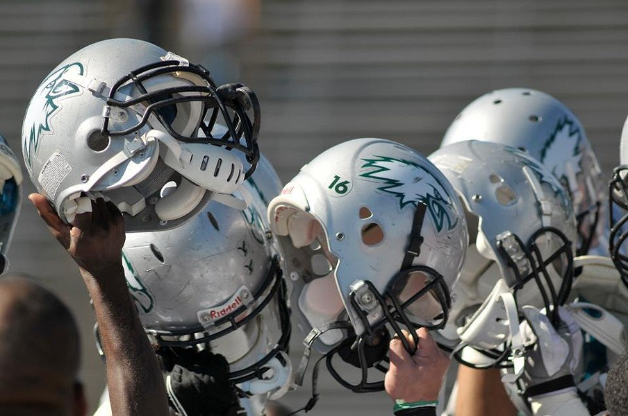 Laney College's football team is the defending junior college national champions. - LANEY COLLEGE/DAN FIGUEROA