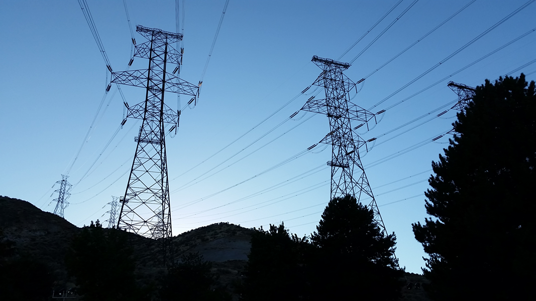 PG&E's rate increase next month is for infrastructure improvements, but not power lines that caused recent California wildfires. - WIKIMEDIA COMMONS
