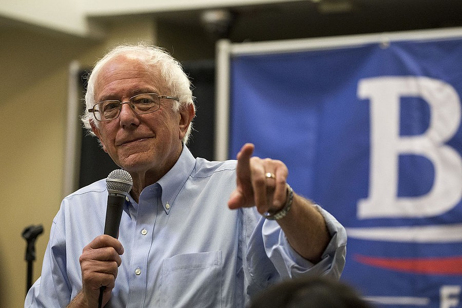 Sen. Bernie Sanders is back on top in California, according to new polling for the March presidential primary. - WIKIMEDIA COMMONS
