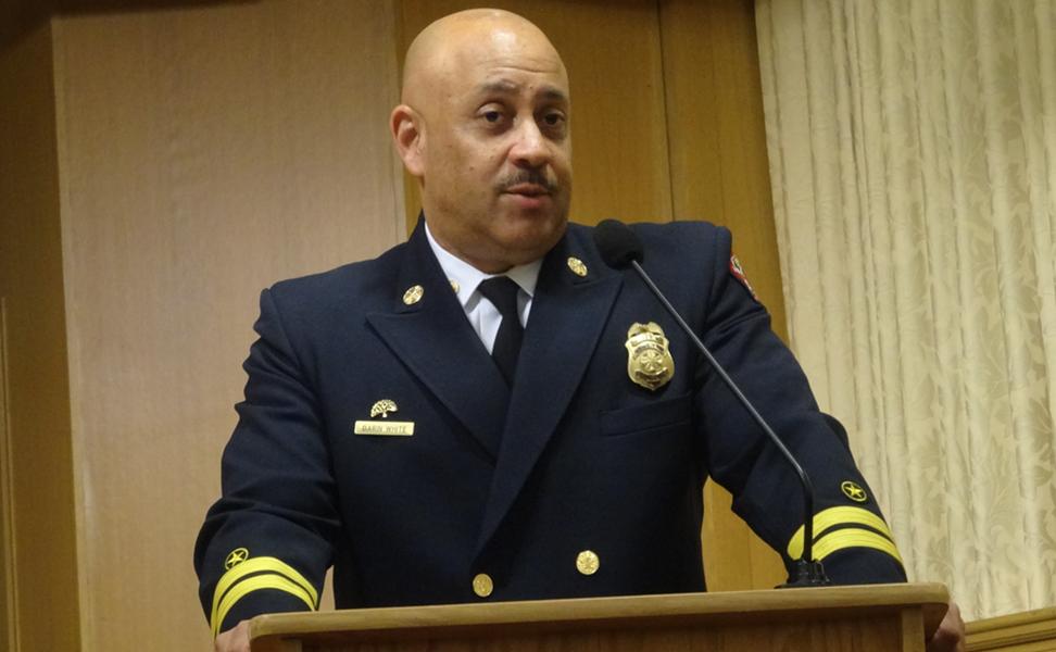 Oakland Fire Chief Darin White. - FILE PHOTO