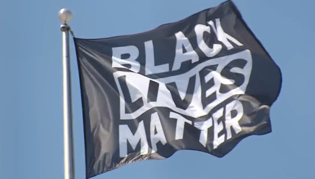 Piedmont city officials voted Monday to fly the Black Lives Matter banner on a city flag poll. - WIKIMEDIA COMMONS