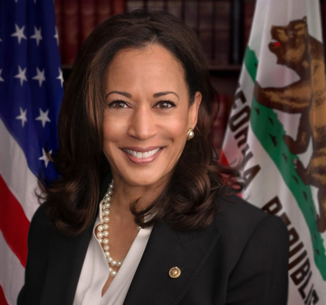 Sen. Kamala Harris was born in Oakland, raised in Berkeley, and spent four years as an Alameda County prosecutor. - HARRIS SENATE OFFICE