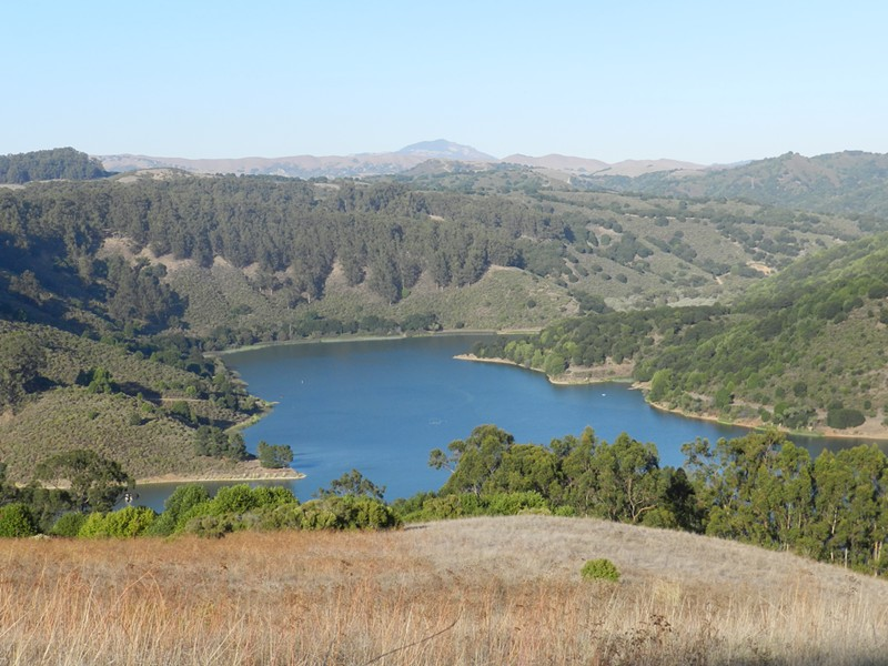 Lake Chabot Regional Park in Castro Valley. - WIKIMEDIA COMMONS