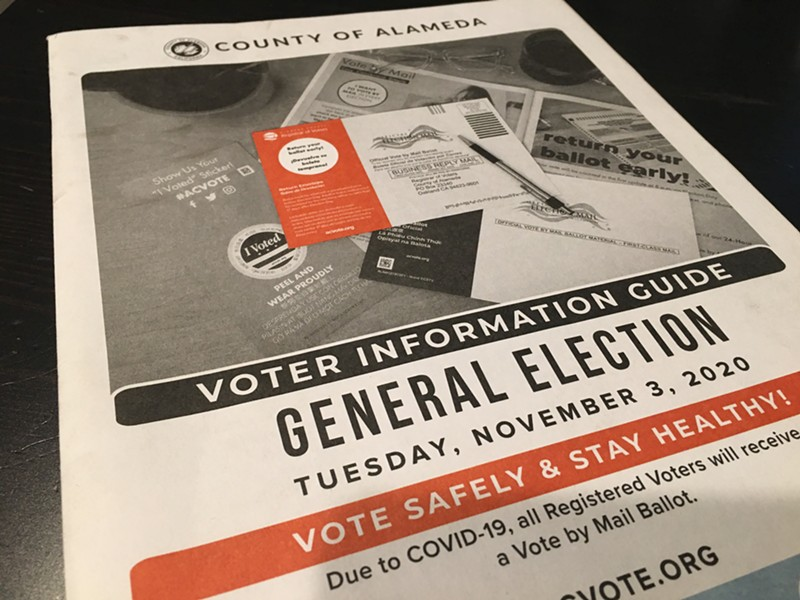 The ACLU of Northern California raised a number of complaints against the Alameda County Registrar of Voters on Friday.