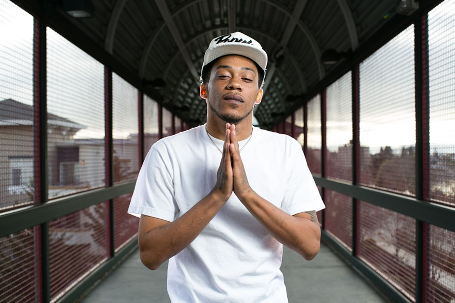 Young Gully's new album, Bermuda, delves into spiritual themes. - BERT JOHNSON