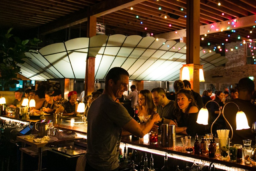 The bar at Penrose. - STEPHEN LOEWINSOHN/FILE PHOTO