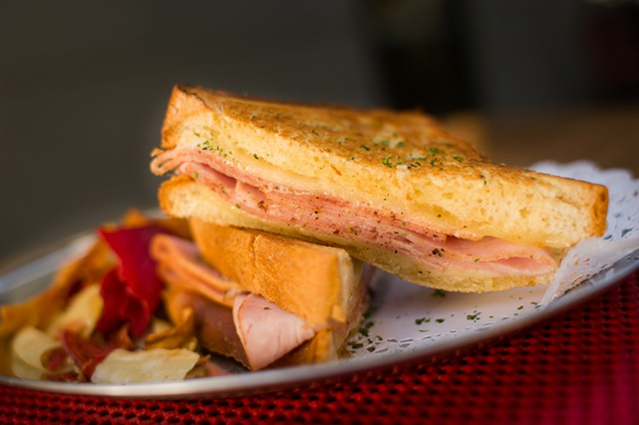 Cafe Clem's croque monsieur. - CHRIS DUFFEY/FILE PHOTO