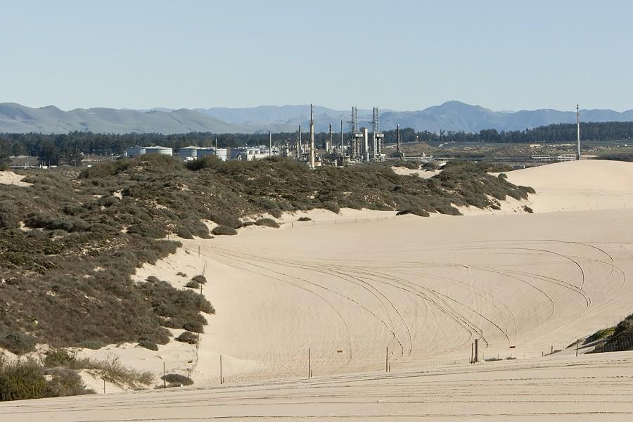 The Phillips 66 refinery in San Luis Obispo County.