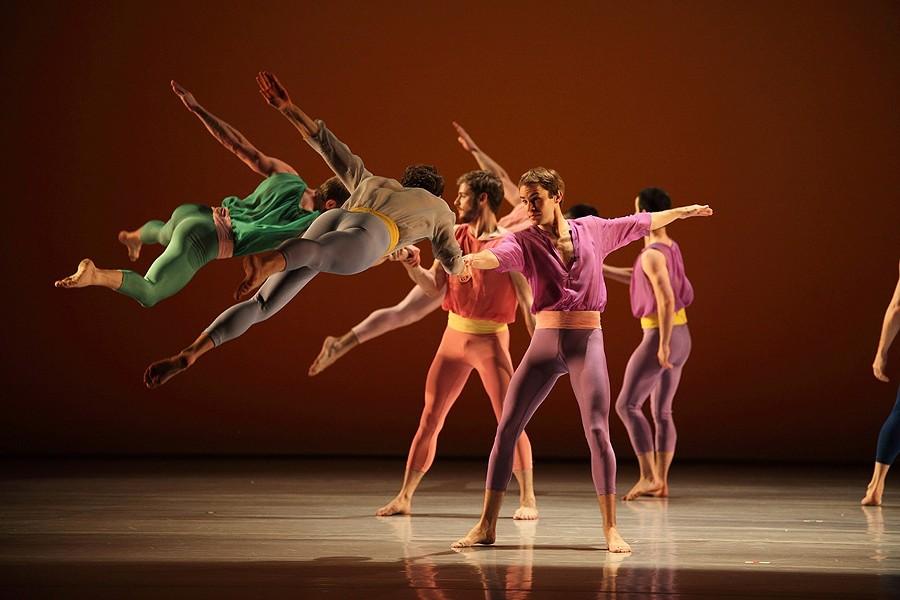 Mark Morris Dance Group performing L'Allegro, il Penseroso ed il Moderato.