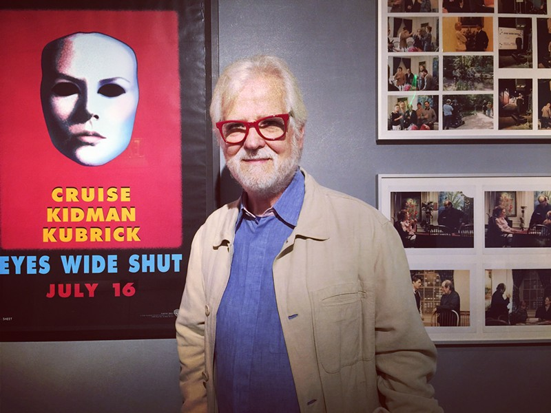 Jan Harlan was executive producer of Stanley Kubrick's final four films. He is also the brother of Christiane Kubrick, the filmmakers widow. Harlan appeared in the Bay Area on Thursday at the opening of the new Kubrick exhibit. - PHOTO BY NICK MILLER
