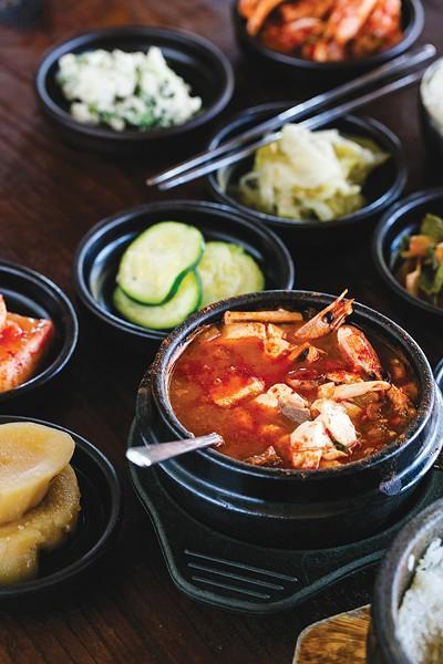 Best Korean Comfort Food: Pyeongchang Tofu House. - PHOTO BY ANDRIA LO