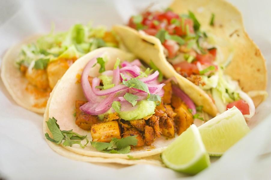 Tacos at Xolo. - CHRIS DUFFEY/FILE
