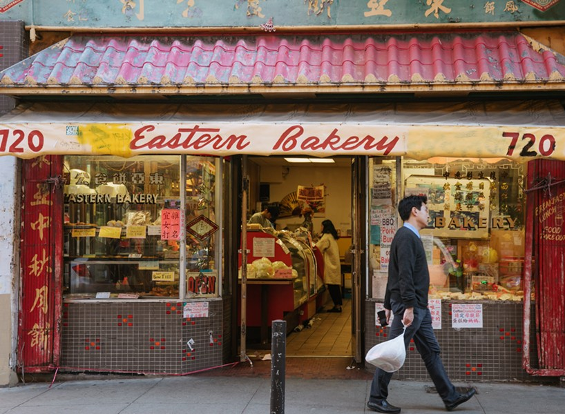 Eastern Bakery is one of four classic San Francisco Chinatown restaurants highlighted in the exhibit. - ANDRIA LO