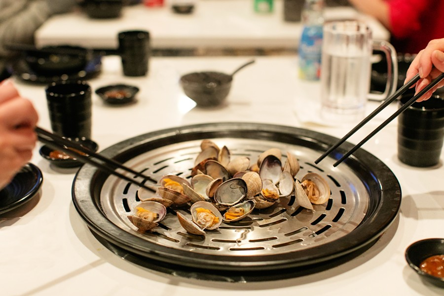 Fresh seafood is the main attraction at Tastee Steam Kitchen. - ANDRIA LO