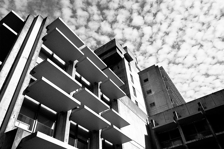 The hatred Wurster Hall at UC Berkeley incites in the minds of unoriginal people speaks volumes to its beauty, and the fact that it's hated shows its value as a work of art. Negativity, derision, depression — whichever of Wurster's casual insults represents your own feelings best, it does make you feel something, you heartless heathen. (By architect Vernon DeMars, constructed in 1964.) - PHOTO BY JUNG FITZPATRICK