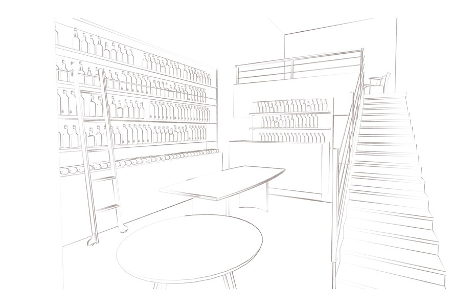 Store design by Tajai Massey.