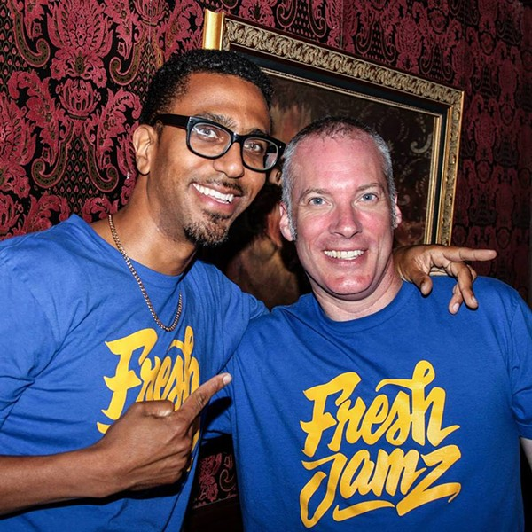 DJ Odiaka (left) and DJ Delgado - PHOTO COURTESY OF FRESH JAMZ
